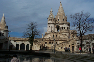 March Spring Fishermans Bastion Budapest Chris Park