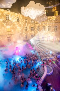 Lukacs Baths Budapest Sparty Nightlife