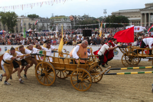 National Gallop Budapest Cart Push Fun Contest