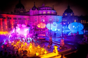 pre New Year Party in Szechenyi Bath Budapest