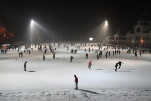 Budapest Winter Festival Ice Rink
