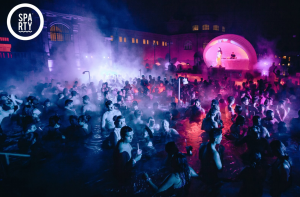 Bath Party Budapest in Winter Szechenyi Bath